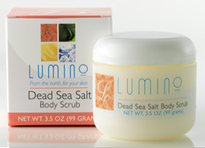 Lumino Dead Sea Salt  Body Scrub